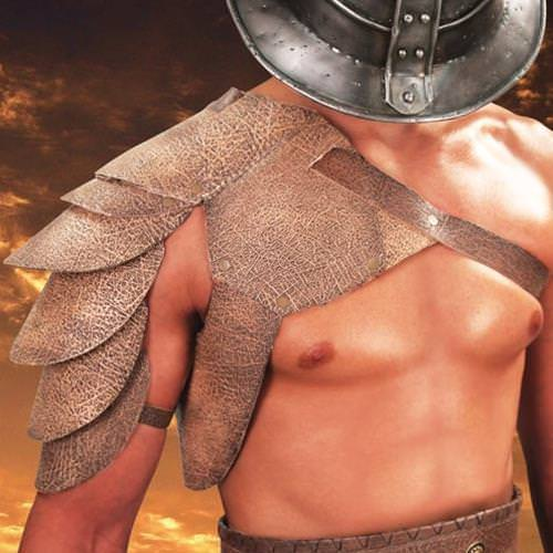 Picture of Spartacus Leather Pauldron