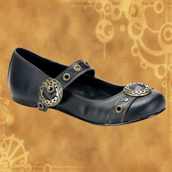Picture of Steampunk Daisy Mary Jane Flats