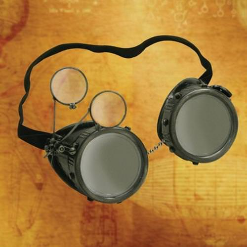Picture of Eye Loupe Steampunk Goggles