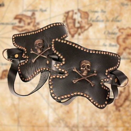 Picture of Leather Pirate Boot Toppers