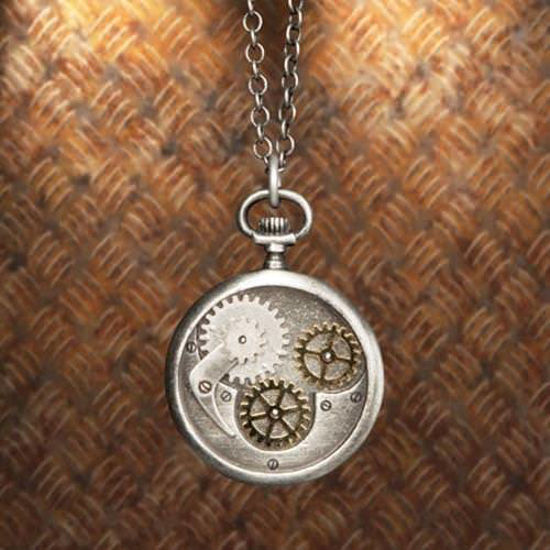 Picture of Compass Gear Pendant