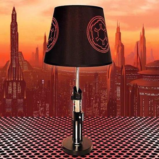 Picture of Darth Vader Jedi Lightsaber Lamp