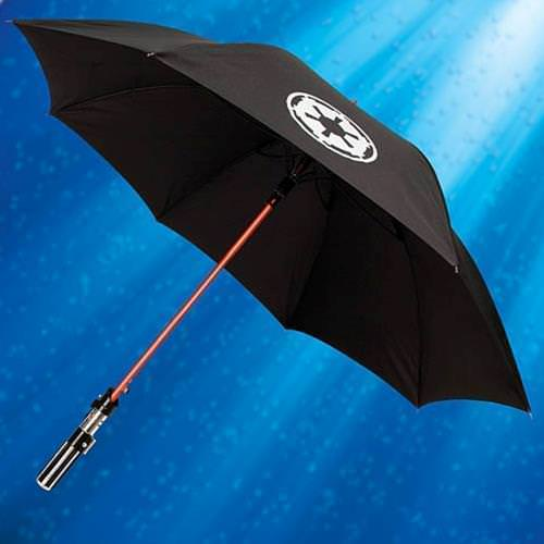 Picture of Darth Vader Lightsaber Umbrella