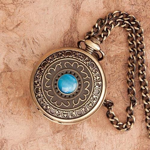 Picture of Turquoise Pocket Watch