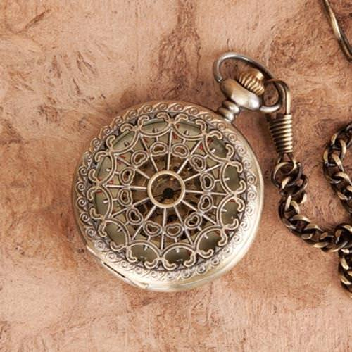 Picture of Victorian Web Pocket Watch