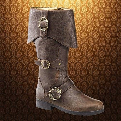 Brown Caribbean Rogue Boots