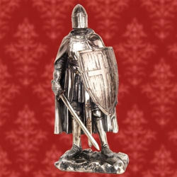 Picture of Crusader Knight Statue
