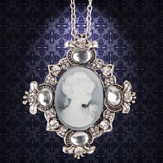 Picture of Victorian Silver Cameo Necklace