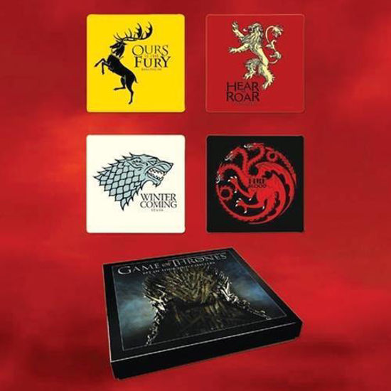 Picture of Game of Thrones Four Sigil Coaster Set