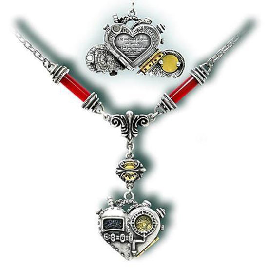 Picture of Corvus Machina Steampunk Pendant