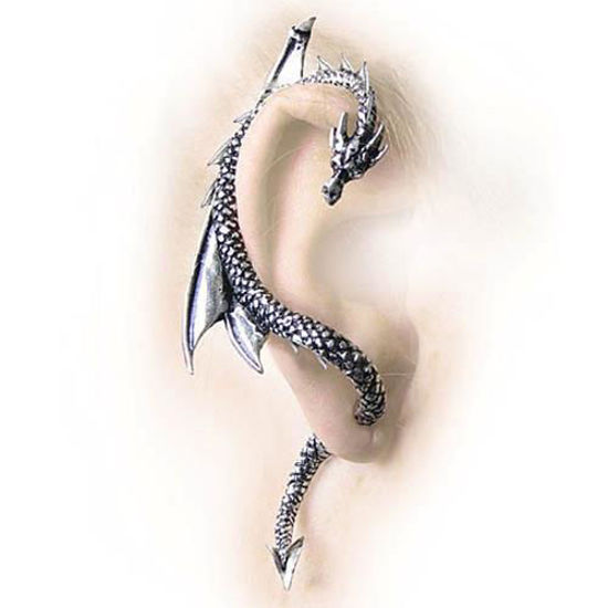 Picture of The Dragon's Lure Stud Earring