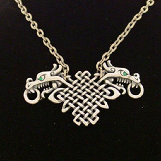 Picture of Celtic Dragon Necklace
