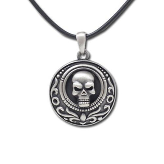 Picture of Skull Coin Necklace