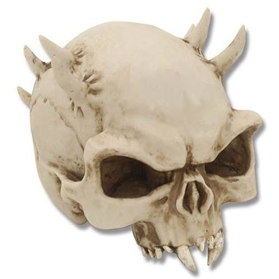 Picture of Thorned Skull Statue