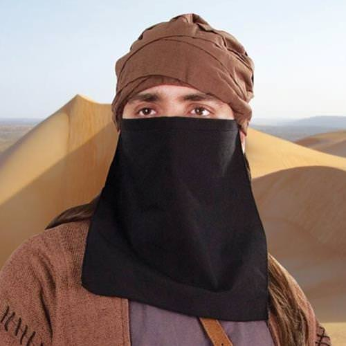 Picture of Wheel of Time Aiel Assassin Turban & Veil