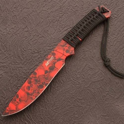 Picture of Apocalypse Red Skull Knife