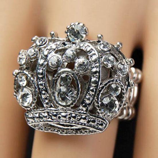 Picture of Royal Crown Adjustable Ring