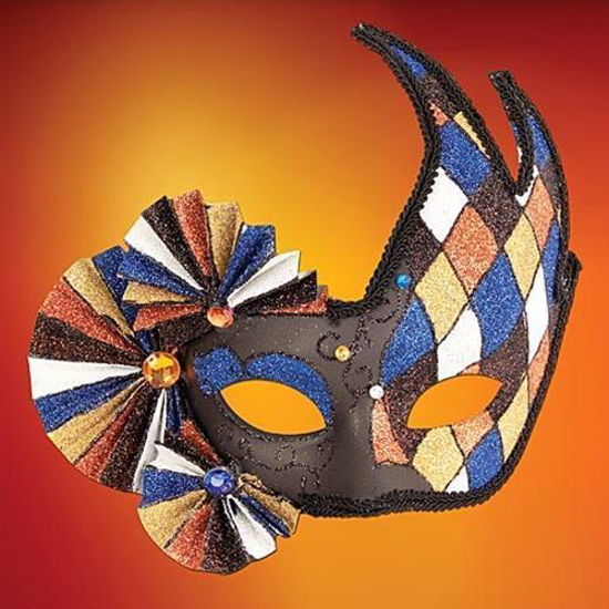 Picture of Harlequin Fan Mask
