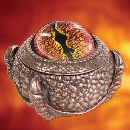 Picture of Land Dragon Trinket Box
