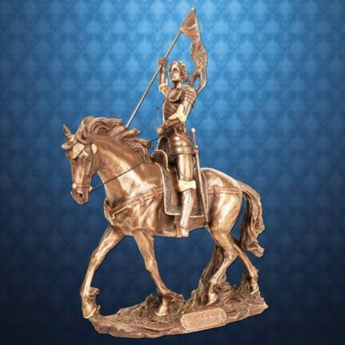 Picture of Joan of Arc Equestrian Statue