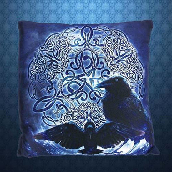 Picture of Celtic Raven Pillow