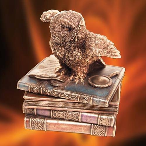 Picture of Messenger Owl Trinket Box