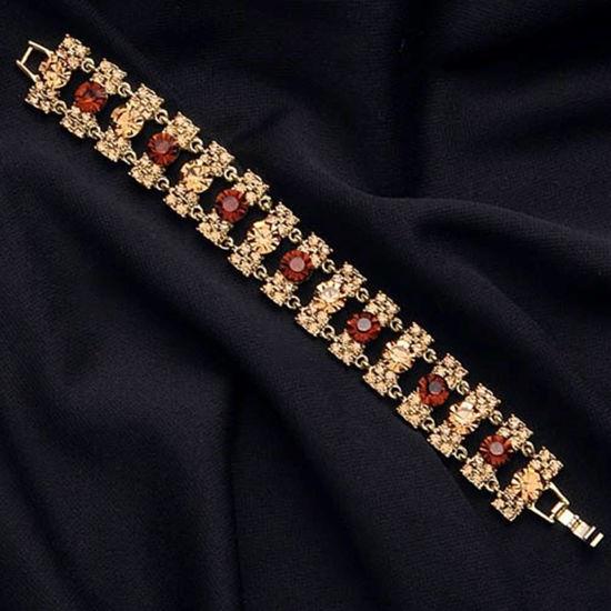 Picture of Gold & Topaz Bracelet