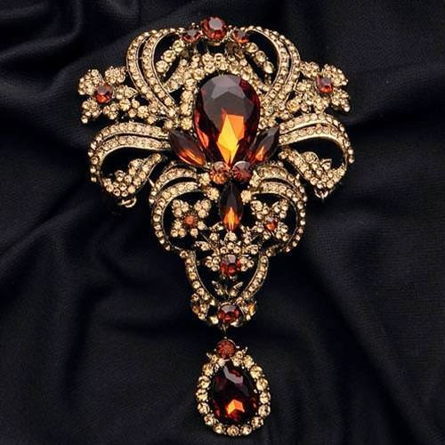 Picture of Rhinestone Brooch