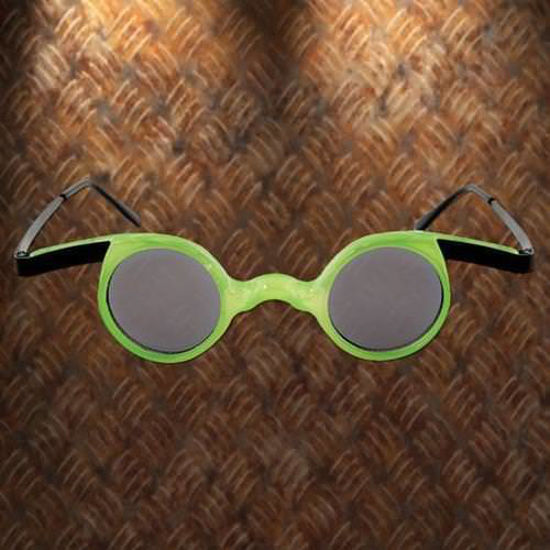 Picture of Mad Scientist Glasses, Green