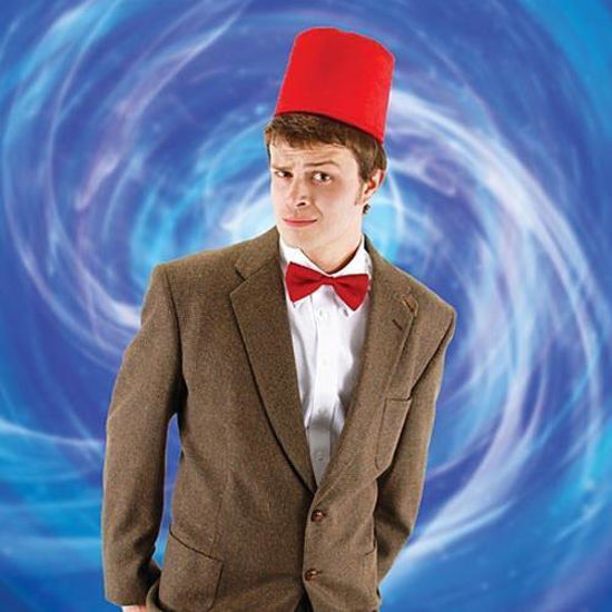 Picture of Doctor Who Fez and Bowtie Set