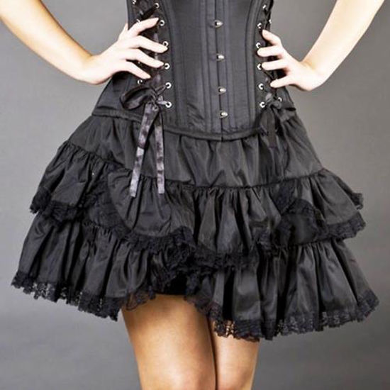 Picture of Scalloped Short Skirt