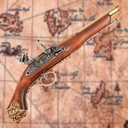 18th Century Non Firing Flintlock Replica has moving parts