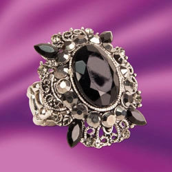 Picture of Black Onyx Stretch Ring