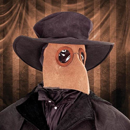 Picture of Plague Doctor Hat & Mask