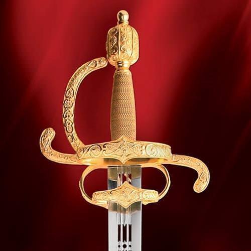 The Castilian Sword - Engraved Hilt