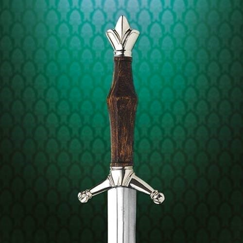 Italian Arming Dagger - Fishtail Pommel