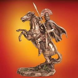 Picture of Centurion on Horseback Statue