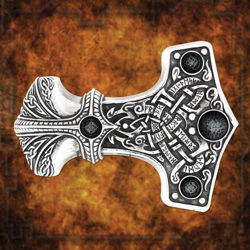 Picture of Thunder Hammer Belt Buckle