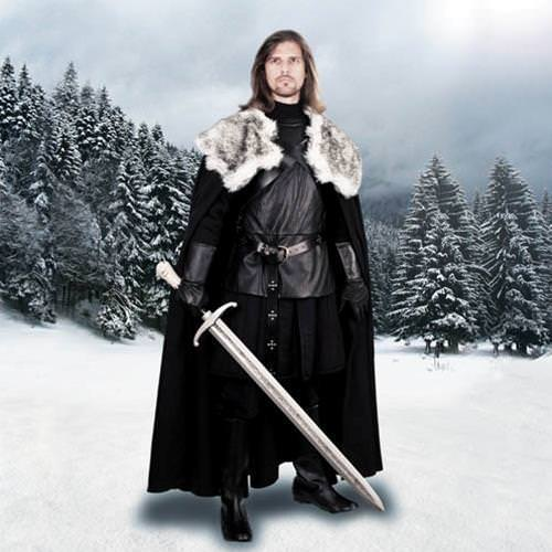 Picture of Jon Snow Night's Watch Cape of the North