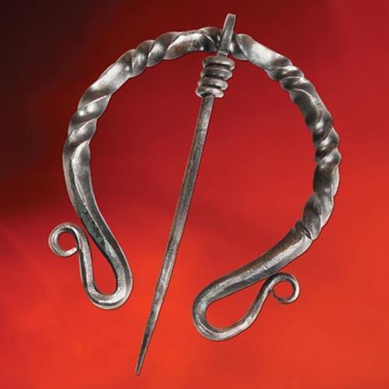 Picture of Dark Ages Twisted Iron Cloak Pin