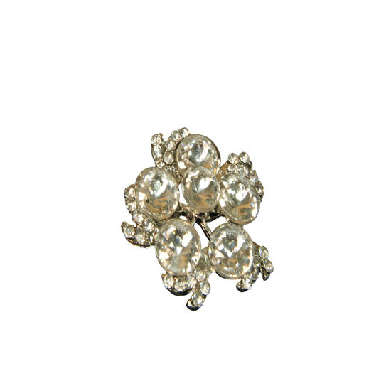 Picture of Crystal Cravat Pin Large