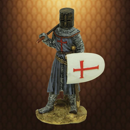 Picture of Armored Crusader Miniature Statue