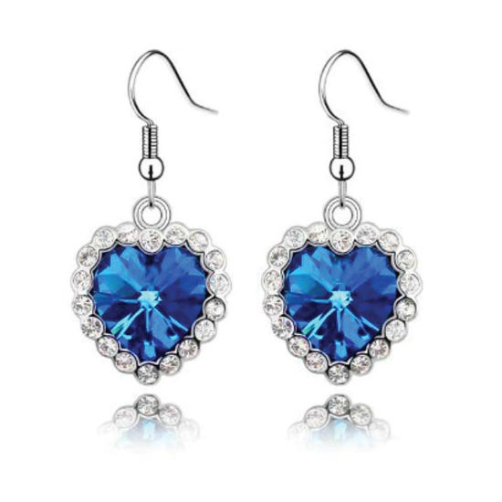 Picture of Heart of the Ocean Earrings
