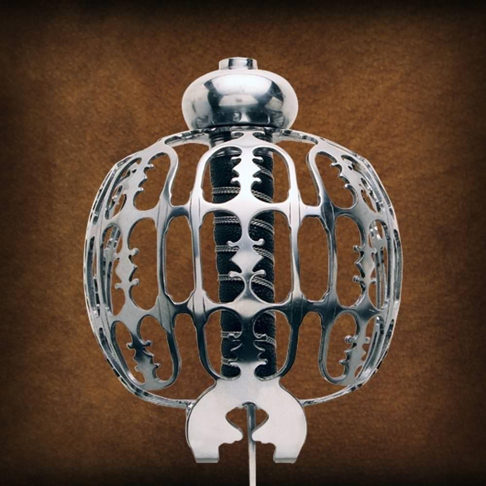 Eglinton Basket Hilt Sword - Intricate basket hilt