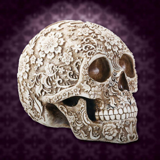 Picture of Victorian Floral Skull