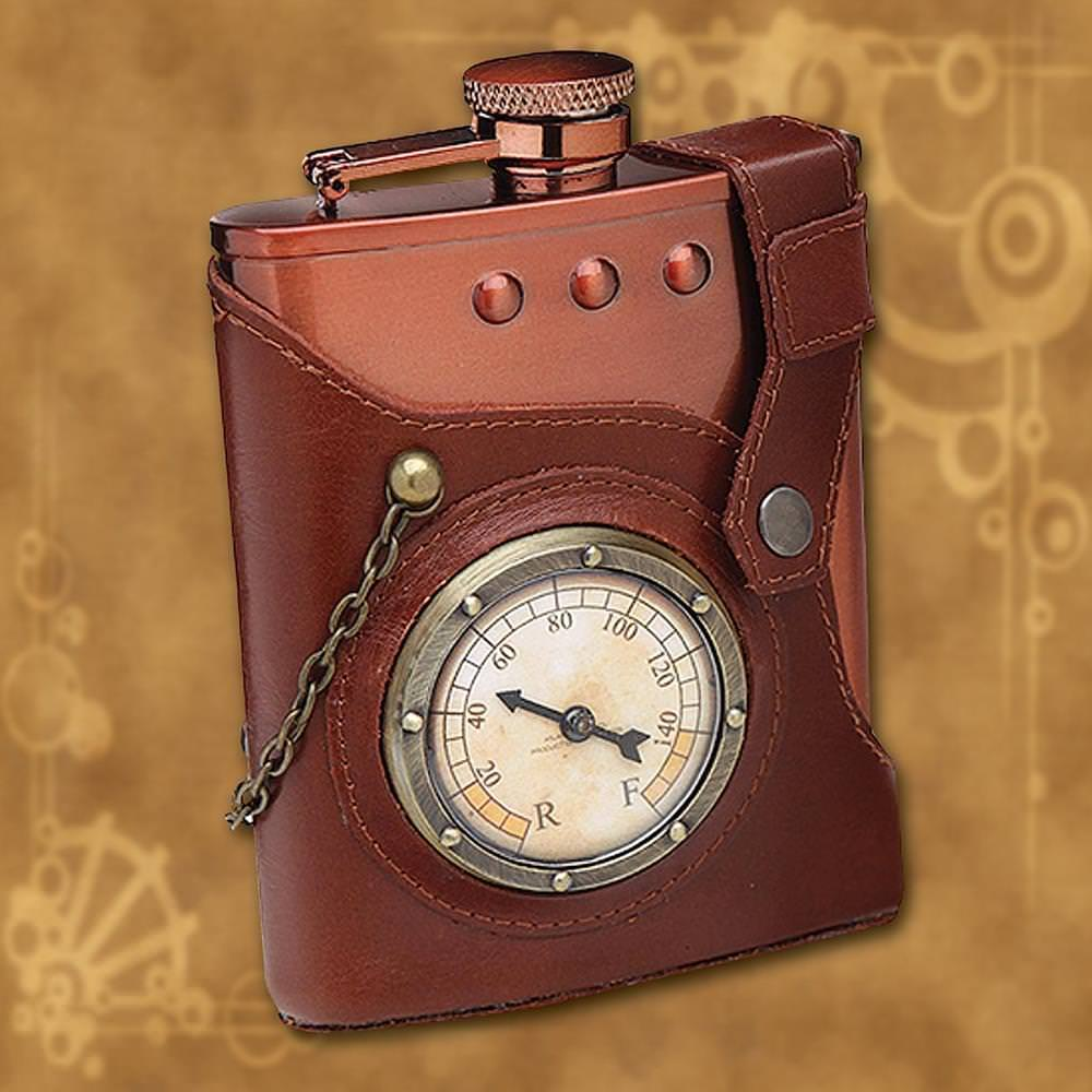 Picture of Steampunk Flask