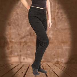 Picture of Black Stretch Pants w/ Ankle Stirrups