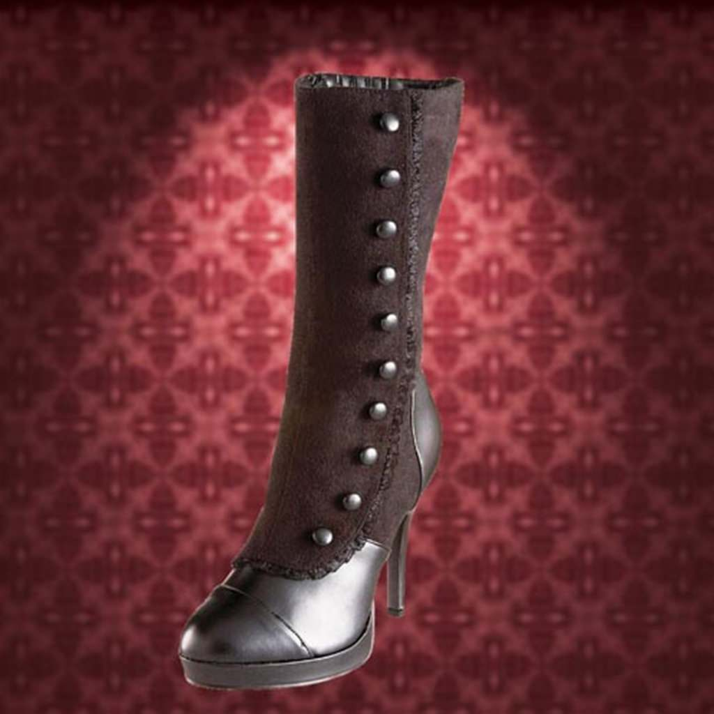 Black Splat Splendor Boots