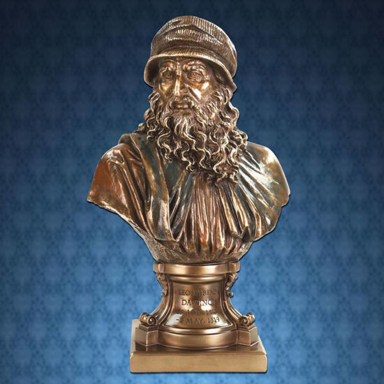 Picture of Leonardo Da Vinci Bust