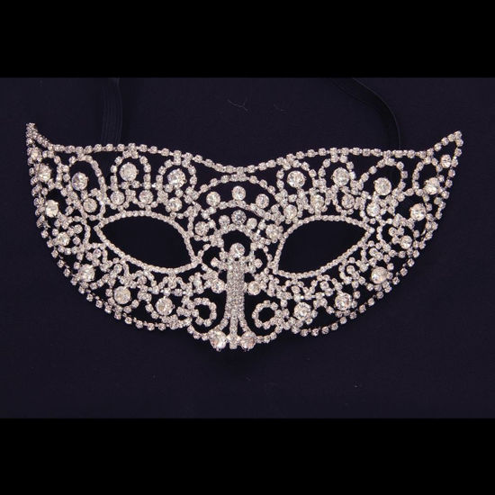 Picture of Rhinestone Ball Mask